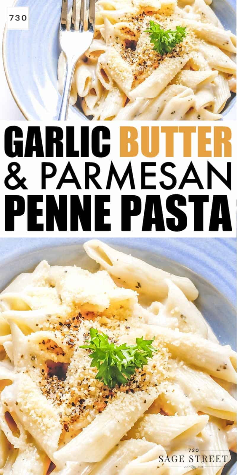 This garlic butter pasta recipe is quick and easy. It's a crowd pleaser that makes a great week-night dinner.