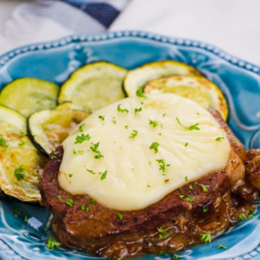 Keto French Onion Steak