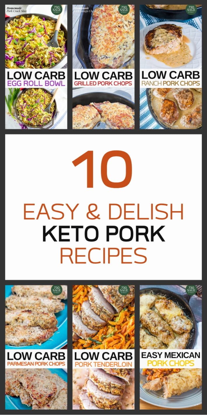 Image with 10 Easy Keto Pork Recipes